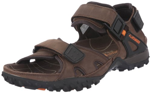 Allrounder by Mephisto - Sandali, Uomo, Marrone (Braun (Dark Brown)), 43
