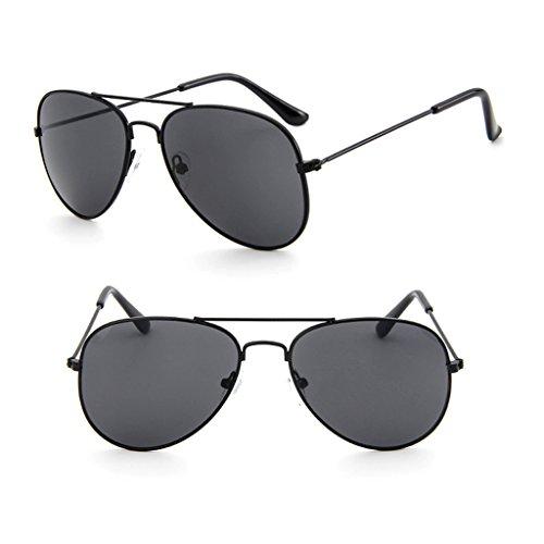 ZOOMY Kinder Kleinkind Junge Mädchen UV-Schutz Brillen Sonnenbrillen Brille UV400 - Schwarz