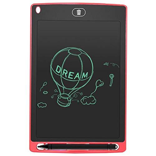 BABIFIS Tablero de Escritura electrónico portátil del Tablero de la Pintura de la Pintada de los niños de la Tableta LCD de 8,5 Pulgadas Red