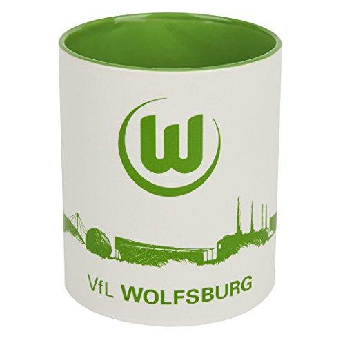 Kaffeebecher Tasse Skyline VFL Wolfsburg