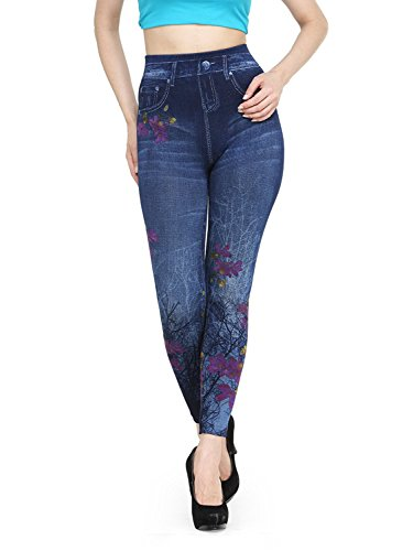 Krystle Women\'s Printed Denim Jegging