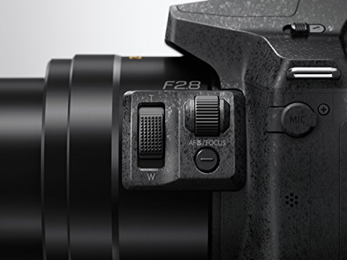 Panasonic LUMIX DMC-FZ300EGK Premium-Bridgekamera (12 Megapixel, 24x opt. Zoom, LEICA DC Weitwinkel-Objektiv, 4K Foto/Video,Staub-/Spritzwasserschutz) schwarz - 11