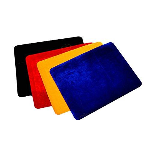 Auveach Tappetino Magia Close-up Prop Giocattoli Carte da Gioco Mat da Poker Colore Casuale