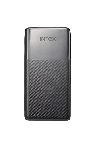 Intex IT-PB-15K Poly 15000mAH Lithium Polymer Power Bank (Black)