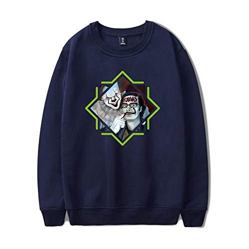 Unisex Pullover Hoodie, Langarm Herren Pullover, Fashion Sweatshirt