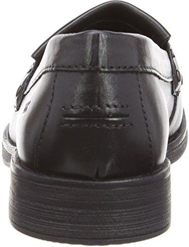 Geox Agata A, Mocassins Fille Noir (BLACKC9999)