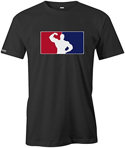 Bodybuilding Logo - Sport - Herren T-Shirt by Jayess Schwarz