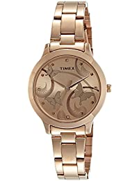 Timex Fashion Analog Brown Dial Women's Watch-TW000T610