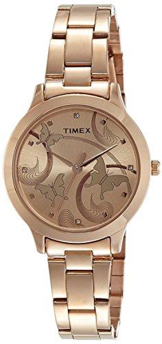 Timex Fashion Analog Brown Dial Women's Watch - TW000T610