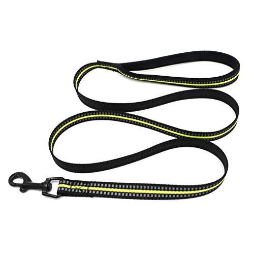 lindahaot Pet Wandern Leinen Polyester Seil Reflektierende Haustier-Leine führt Puppy Medium Large Haustiere Sicherheit Pet Supplies -