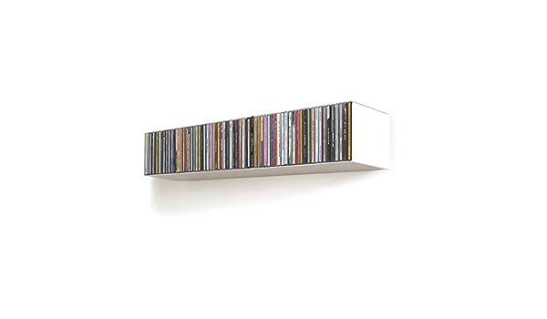 home3000 CD-Designregal in Wei/ß