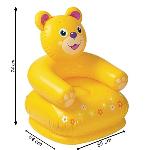 Intex Teddy Bear Inflatable Chair For Kids  available at amazon for Rs.435