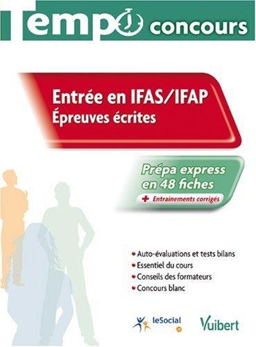 Entre en IFAS / IFAP : Epreuves crites, Collection tempo concours