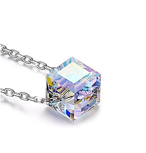 ra Zucker Halskette Österreichischer Kristall Halskette X 1 ()