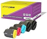 Printing Saver CLP-300A SCHWARZ (2) Cyan (1) Magenta (1) GELB (1) Toner kompatibel für Samsung CLP-300, 300N, CLX-2160, 2160N, 2160X, 2160K, 2161KN, 2161K, 3160, 3160N, 3160FN