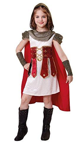 Bristol Novelty CF031römischen Prinzessin (S), klein 110cm–122cm (Die Griechische Oder Die Römische Prinzessin Kostüme)