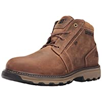 Caterpillar CAT Parker S1P SRC Mens Brown Steel Toe Cap Safety Boots Work Boot