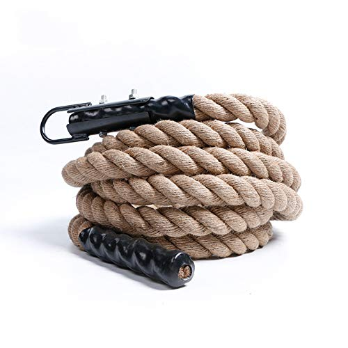 Preisvergleich Produktbild Gymnastik-Kletterseile,  Battle Rope,  Workout Fitnesstraining,  3, 8 cm / 4 Mt / 6 Mt / 8 Mt, 3.8cm / 6M