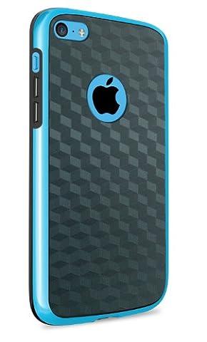 vau Bumper Cuboid - blue - TPU Silikon-Case, Tasche für