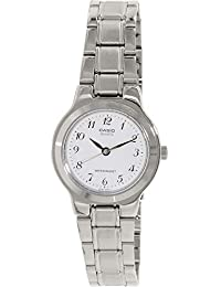 d02c26cd070e CASIO 19206 LTP-1131A-7BR - Reloj Señora cuarzo brazalete metálico dial  blanco