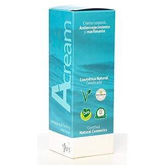 Crema Corporal Ecológica Hidratante y Antiestrías | Con Manteca de Karité | Indicada en Embarazo y Postparto | Certificaciones Bio y Eco | Envase de 200 ml