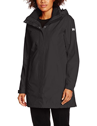Helly Hansen Damen W Aden INS ulated Coat Jacke, 990 Black, 2XL (Insulated Rain Womens)