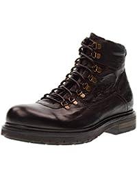 NERO GIARDINI El hombre de zapatos anfibios A705480U / 300 marrón oscuro