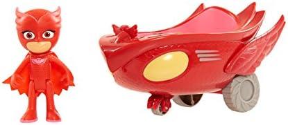 PJ Masks Giochi Preziosi - Super Pigiamini Veicolo Gufaliante con Personaggio Gufetta, PJM03300