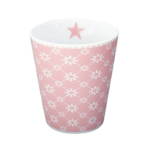 Krasilnikoff Mug Diagonal Pink
