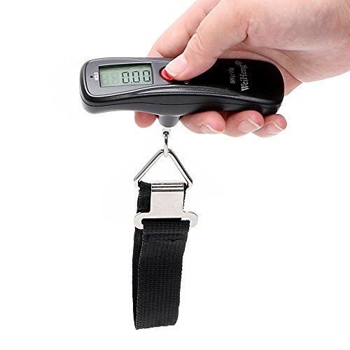 Pèse bagage électronique numérique 50 kg 10 g...
