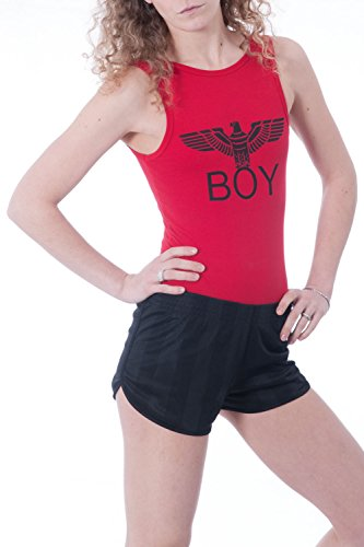 BOY LONDON - Femme body t-shirt sans manches bl592 Rouge