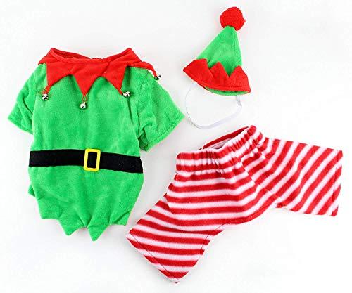 Kostüm Den Hunde Für Elf - Midlee Hund Elf Kostüm, Large