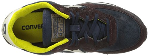 Converse  Auckland Racer OX Suede, Baskets pour homme Multicolore - Twilight/Burnt Umber