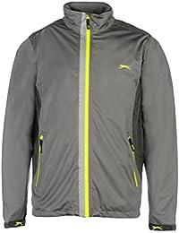 Slazenger Mens 4 Way Stretch Jacket Hydroguard Waterproof Full Zip Top