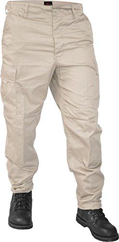 US Ranger Hose BDU Hose in verschiedenen Farben Farbe Khaki Größe M (Khaki Bdu)
