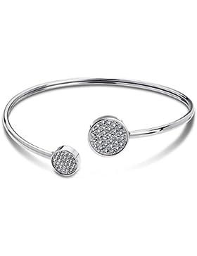 Lotus–LS1820–2/1: Armband Hartschale Damen Stahl und Stein Synthese