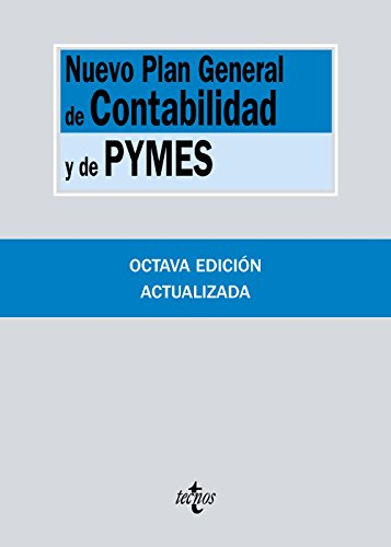 Nuevo Plan General de Contabilidad y de Pymes (Derecho - Biblioteca De Textos Legales) por Editorial Tecnos