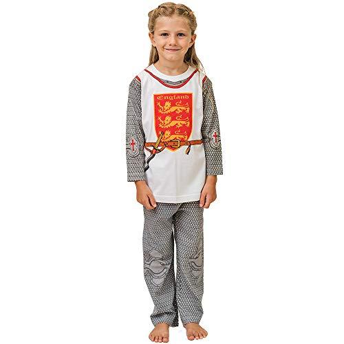 Kostüm Mond Ritter - PLAY'N'WEAR Ritter von England & Lustige Homewear Kostüme (7-8 Jahre)