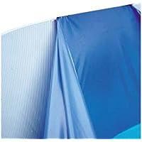 Gre FPROV610 - Liner para piscinas ovaladas, 610 x 375 cm altura 120 cm, color azul