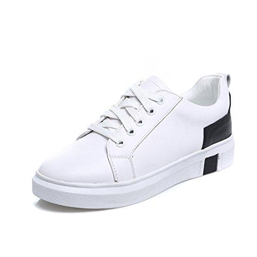 XTIAN - Scarpe con plateau Donna bianco, nero