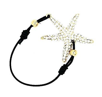 damen-accessoire-armband-seestern-glitzer-strasssteine-modeschmuck-armschmuck-damenschmuck-8437-gold
