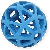 pet nova Perros–Pelota de juguete con orificios para Fuga erlis, 9cm