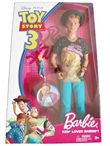 Toy Story 3 Ken Loves Barbie Doll Amazon Co Uk Toys Amp Games