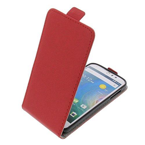 foto-kontor Tasche für Acer Liquid Z530 Liquid M530 Smartphone Flipstyle Schutz Hülle rot