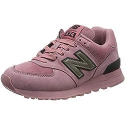 New Balance 574v2, Baskets Femme, Rose (Pink Pink), 40 EU