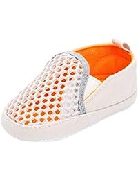 non-brand Sharplace Scarpe Sandali Di Cuoio per Bambini Neonata - Bianco, 12-18M