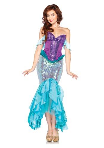 Women's Disney Deluxe Ariel Fancy dress costume Large