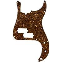 IKN 2piezas Golden perla golpeador 3-ply para estilo PB precisión Bass guitarra con libre tornillos