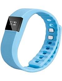 Sannysis® Deportes inteligente Muñequera Sleep fitness Actividad del perseguidor; Podómetro reloj pulsera (Azul Cielo)