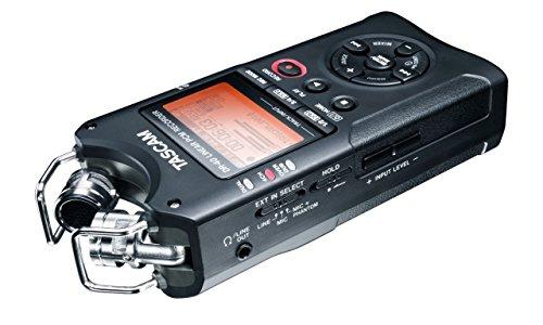 TASCAM DR-40 mobiler Stereorecorder 96kHz/ 24Bit oder MP3 bis 320kBit/s - INKLUSIVE 2GB Speicherkarte!